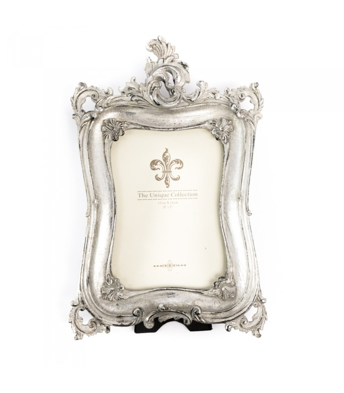 Picture frame silver